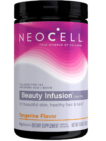 Neocell Collagen Beauty Powder Tangerine 15.87 oz Powder