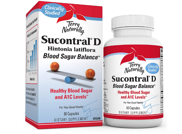 Terry Naturally Sucontral D Blood Sugar Balance