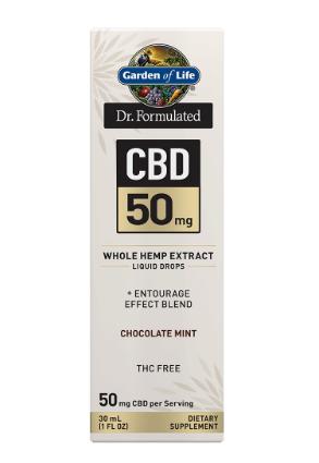 Garden of Life Dr. Formulated CBD 50mg Chocolate Mint 1oz