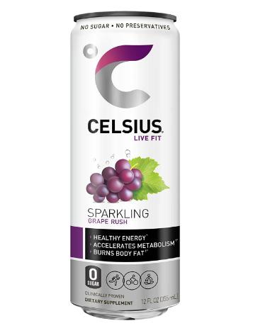 Celsius Sparkling Grape Rush 12oz
