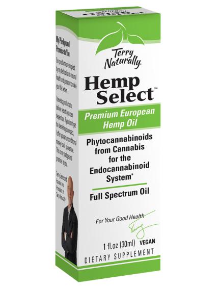 Terry Naturally Hemp Select Full Spectrum Oil 1oz