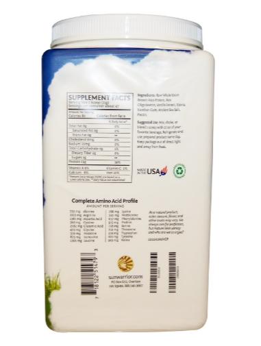 Sunwarrior Classic Protein Vanilla 1kg