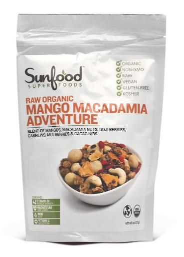 Sunfood Mango Macadamia 8oz