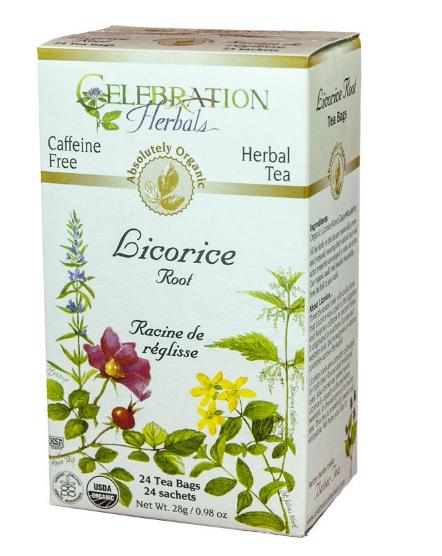 Celebration Herbals Licorice Root Tea