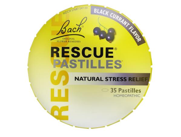 Bach Rescue Pastilles, Black Currant