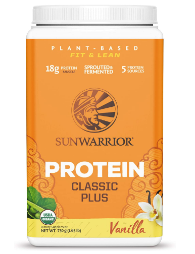 Sunwarrior Classic Plus Vanilla 750g