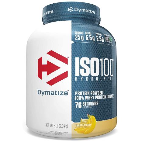 Dymatize ISO100 Protein Powder, Banana 5LB