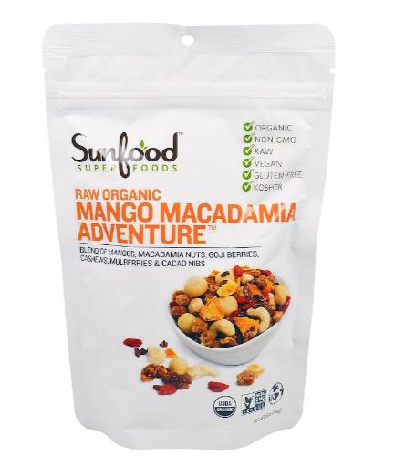Sunfood Mango Macadamia 6 oz
