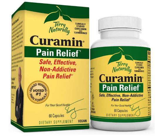 Terry Naturally Curamin Pain 60 Capsules