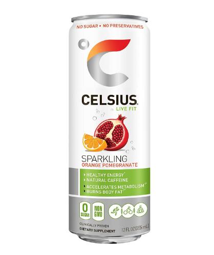 Celsius Sparkling Orange Pomegranate 12oz