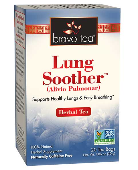 Bravo Tea Lung Soother 20 Bags