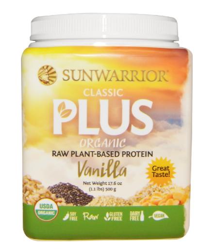 Sunwarrior Classic Plus Vanilla 500g