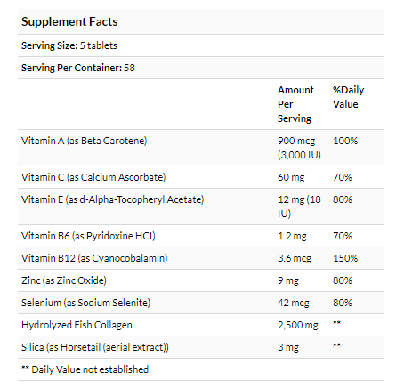 Youtheory, Marine Collagen, 2,500 mg , 290 Tablets