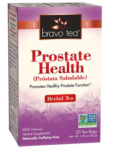 Bravo Tea Prostate Health 20 Bags