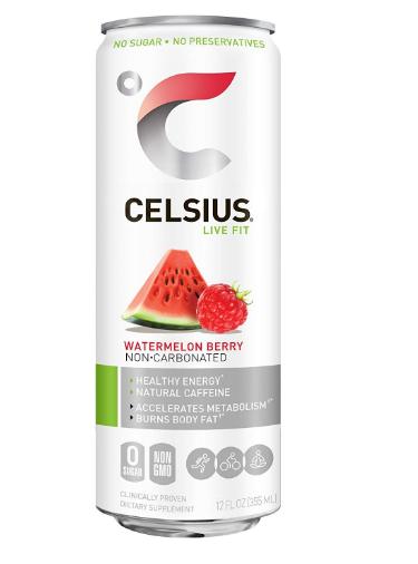 Celsius Sparkling Watermelon 12oz