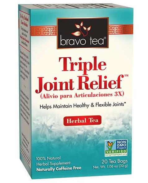 Bravo Tea Triple Joint Relief 20 Bags