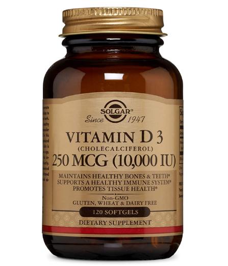 Solgar Vitamin D3 10,000