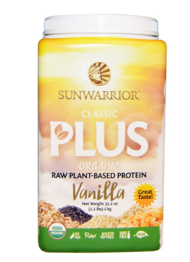 Sunwarrior Classic Plus Vanilla 1kg