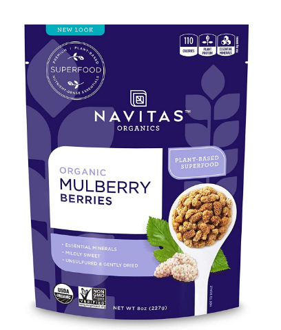 Navitas Organic Mulberry Berries 8oz