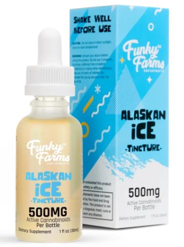 Funky Farms Tincture 500mg Alaskan Ice