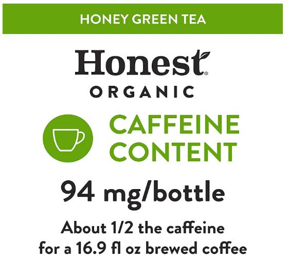 Honest Tea, Organic Honey Green Tea 16.7oz
