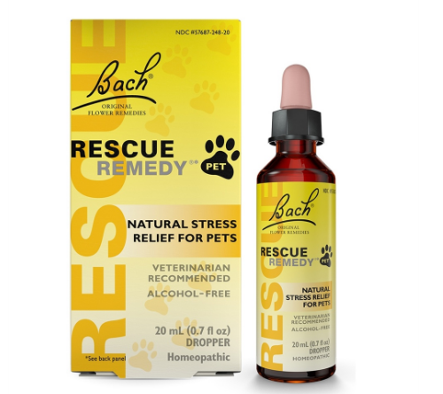 Bach Rescue Remedy Natural Stress Relief for Pet 20ml 0.67oz