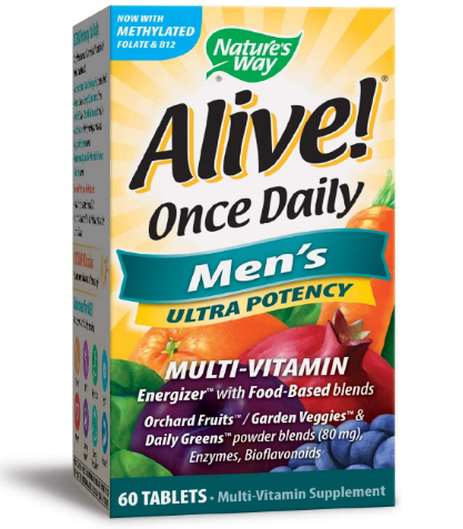 Nature's Way Alive Once Daily Men's 60 tablets