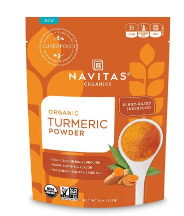 Navitas Organic Turmeric Powder 8 oz