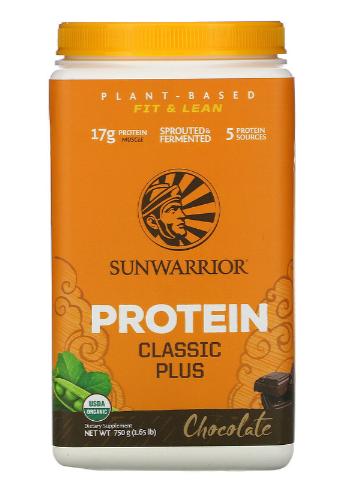 Sunwarrior Classic Plus Chocolate 750g