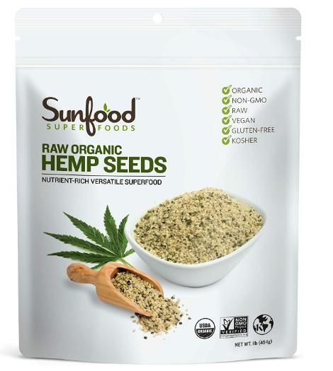 Sunfood Hemp Seeds 1 lb.