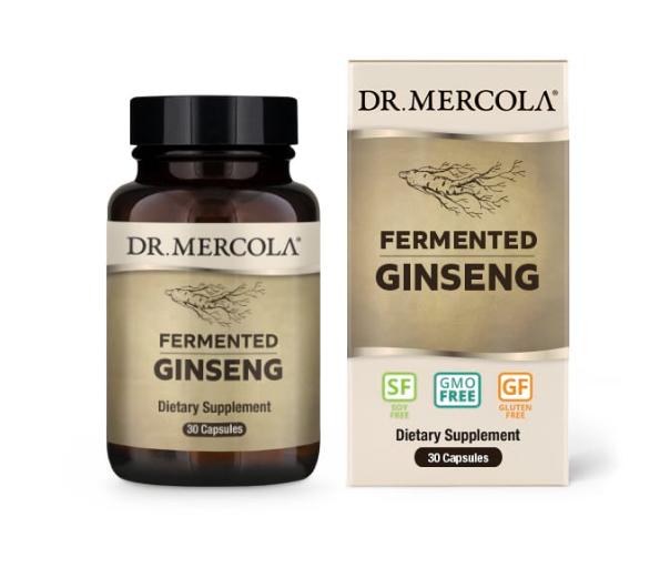 Dr. Mercola Fermented Ginseng 30 Capsules
