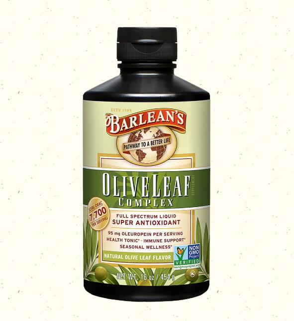 Barlean's Olive Leaf Complex, Full Spectrum Liquid 16oz