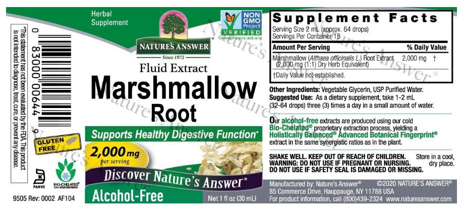 Natures Answer Marshmallow 1oz