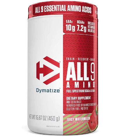 Dymatize All 9 Amino, Juicy Watermelon 15.87oz
