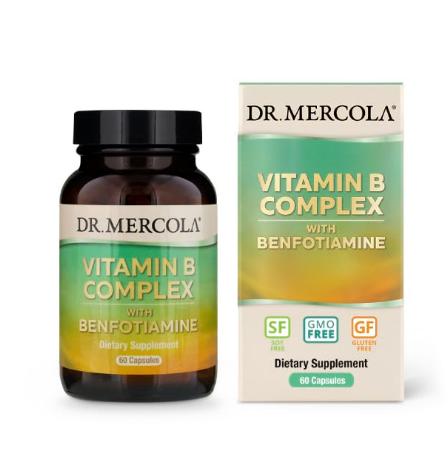 Dr. Mercola Vitamin B Complex 60 Capsules