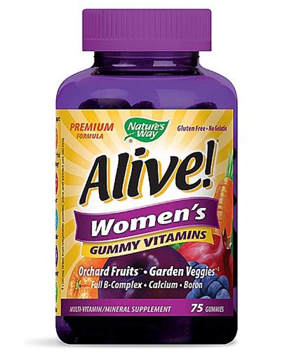 Nature's Way Alive! Women's Multi 75 Gummy