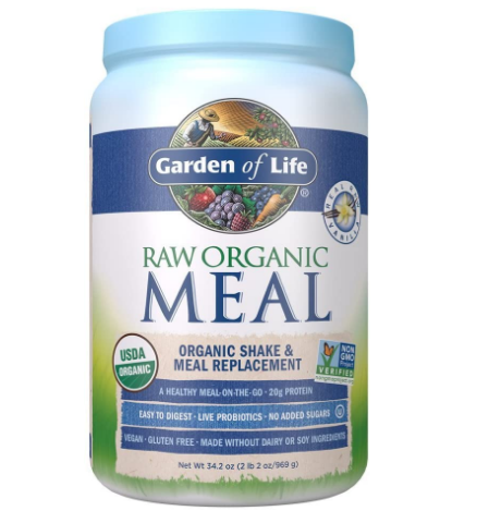 Garden of Life Raw Organic Meal Replacement & Shake, Real Raw Vanilla 34.2oz