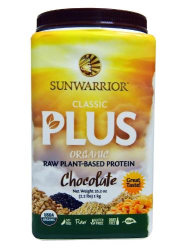 Sunwarrior Classic Plus Chocolate 1kg