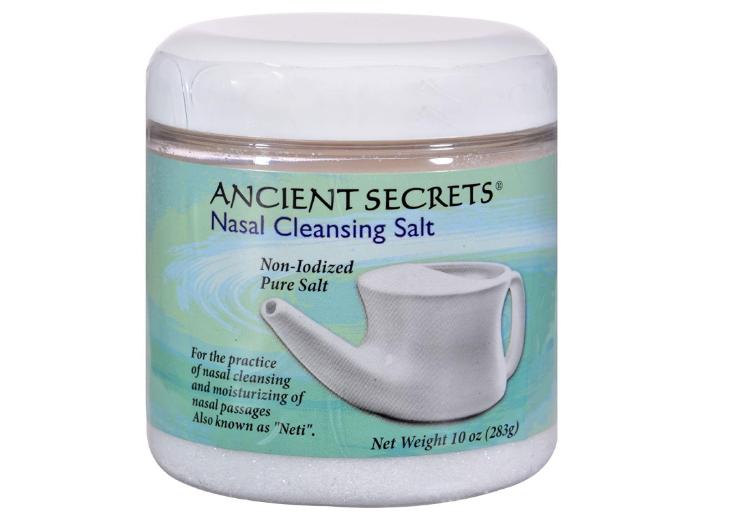 Ancient Secrets Nasal Cleansing Salt 10oz