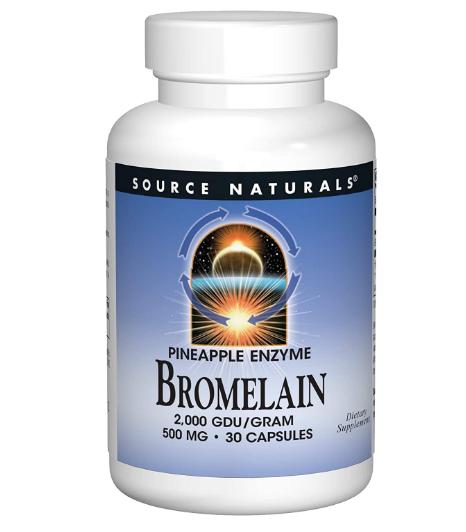 Source Naturals Bromelain 2000GDU 30 capsules