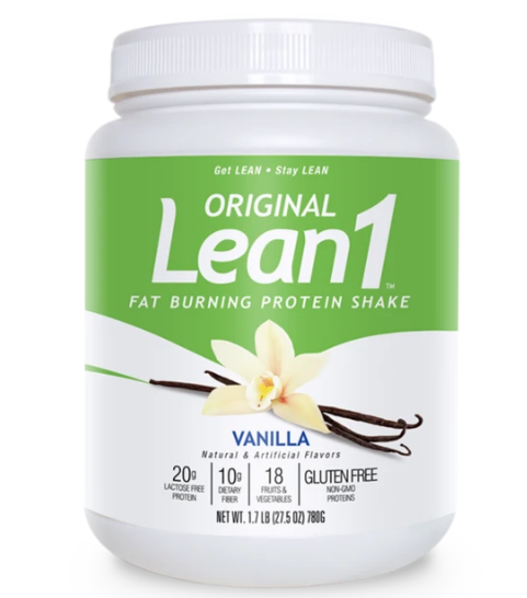 N53 Lean1 Fat Burning Meal Replacement, Vanilla 27.5oz