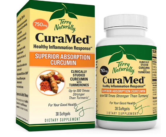 Terry Natural  Curamed 750mg 30 sft gels