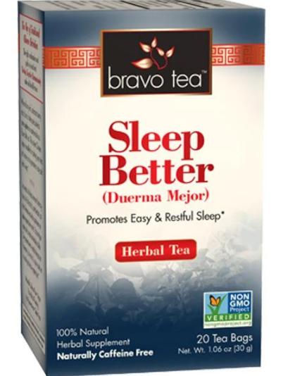 Bravo Tea, Sleep Better Herbal Tea