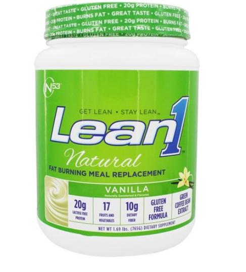 N53 Lean1 Vanilla 15 Serving