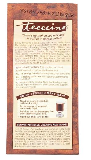 Teeccino Herbal cofee