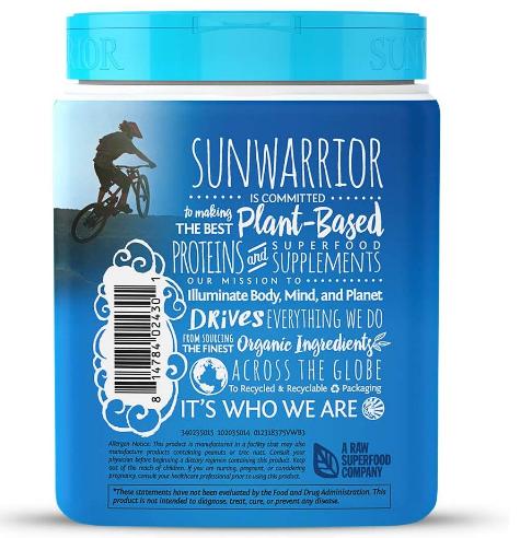 Sunwarrior Warrior Blend Vanilla 375g