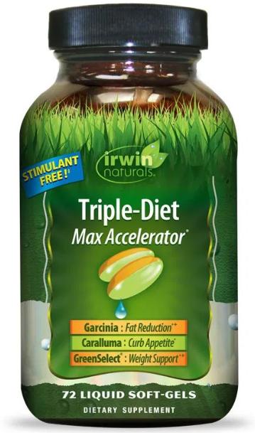 Irwin Naturals  Triple-Diet  Max Accelerator