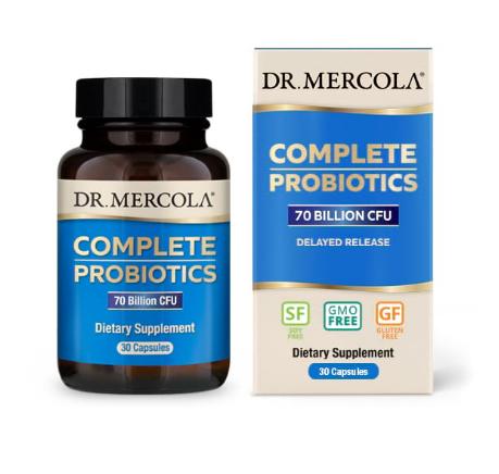 Dr. Mercola Complete Probiotics 70 Billion 30 Capsules