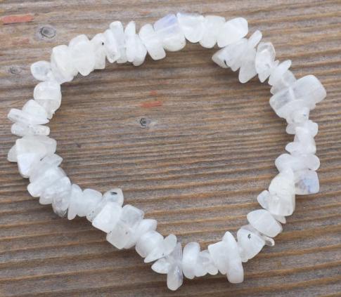 Crystals Gemstone chips bracelet
