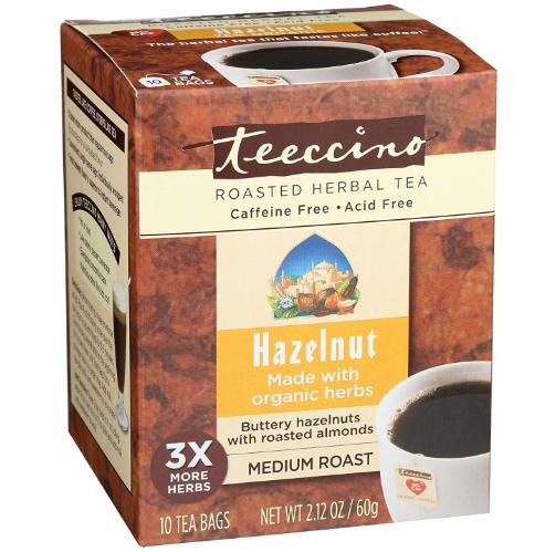 Teeccino Hazelnut 10 bags